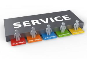 Service/clients diagram